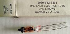 Lot Of 25 Nos Vacuum Electron Tube 5702Wb / Jan-5702Wb / 5702 / Ck5702 Raytheon