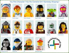LEGO® 8803 Minifigure Series 3 YOU PICK character SAME DAY ship