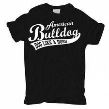 T-shirt American Bulldog Boss perros raza criadores perros soporte cachorros Verein pasear