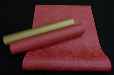 """32987-) Vliestapete """"Memory 3"""" schickes Design rot + gold mit Metallikeffekt"""