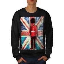 English Guard Drapeau Hommes Sweatshirt NOUVEAU | wellcoda