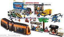 LEGO 60097 PIAZZA DELLA CITTÀ CITY SQUARE (sacchetti nuovi, istruzioni, sticker)