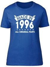 Realizzata nel 1996, tutte le parti originali compleanno donna manica corta T-shirt