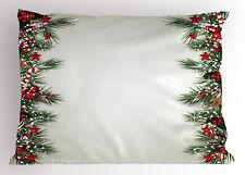 Noel Theme Pillow Sham Decorative Pillowcase 3 Sizes Bedroom Decoration