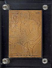 1994 95 TEAM PINNACL HIGHLAND MINT LE BRONZE CARD NM CAM NEELY PAVEL BURE BRUINS