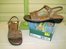 SAS Capri Womens Bronze Comfort Sandal - NEW IN BOX