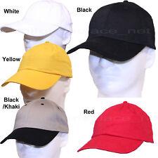 Men's Hats Adjustable side buckle Baseball Cap Solid Plain Blank Curve Visor Hat