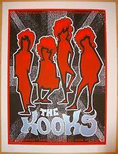 2008 The Kooks - San Francisco Silkscreen Concert Poster s/n by Zio Firehouse