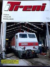 I Treni 96 1989 Confronto locomotive E 636 Roco Rivarossi tecnotren H0