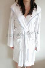 Unisex Shawl Collar Luxurious Bathrobe Robe Dressing Gown Housecoat