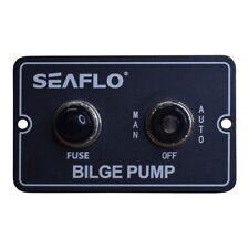 Bilge Pump Switch Automatic & Manual Operation, Aliminium Back Panel: Freepost