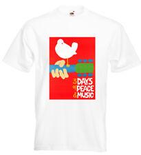 Woodstock Festival T Shirt Grateful Dead CSN Johnny Winter Jeff Beck Tim Hardin
