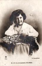 # REALI-SAVOIA: S.A.R. LA PRINCIPESSA JOLANDA 1909