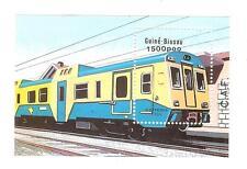 TRAINS LOCOMOTIVES TRANSPORT BLOC GUINE BISSAU 1 VALEURS