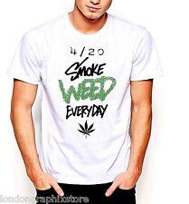 Marijuana T-Shirt, Weed , Cannabis, 420, blunt, bong, drugs men swag cotton tee