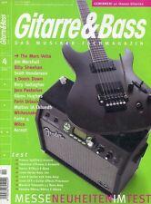 Gitarre und Bass # April 2005 -MESSE NEUHEITEN- The Mars Volta, Jim Marshall,...