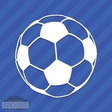 Soccer Ball Vinyl Decal Sticker Sports Football