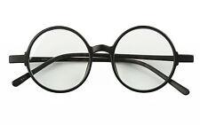 Fashion TR90 46mm Retro Vingtage Round Glasses Frame Circle Eyeglasses Rx-able