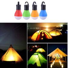 Mini Portable Tent Light LED Bulb Emergency Lamp Hanging Hook Camping Flashlight