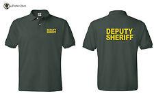 Deputy Sheriff- Law Enforcement Polo T-shirts S-5XL  50%50