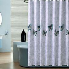Butterfly Flying Pattern Waterproof Shower Curtain Home Bathroom Window Curtains