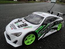 Mitsubishi 4WD rechargeable drift radio voiture télécommandé 1/10 vitesse voiture de course