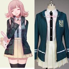 Danganronpa Dangan-Ronpa 2 Chiaki Nanami Dress Costume Cosplay