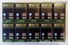 HUSABERG FE390 Enduro (2010 to 2012) HIFLOFILTRO FILTRO DE ACEITE (HF655) X
