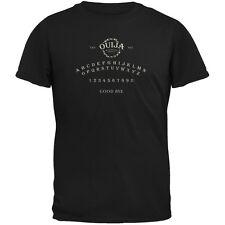 Halloween Ouija Board Costume Black Adult T-Shirt