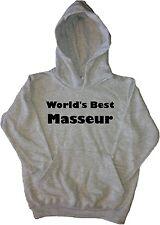 World's Best Masseur Kids Hoodie Sweatshirt