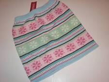 NWT Gymboree Winter Ballerina Fair Isle Cotton Sweater Knit Skirt SZ 4567