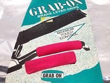 Cult nos vintage retro tumba on Brake lever grips 90`s Green Pink BMX MTB fixie