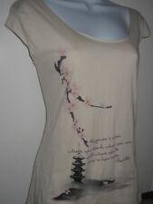 NEW American Apparel Organic Cherry Blossom Asian shirt