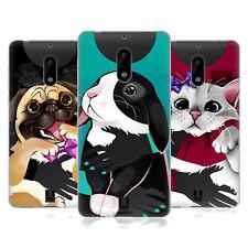 Disegni HEAD CASE HUGGABLE Pets Soft Gel Custodia per telefoni NOKIA 1