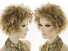 Premium Lightweight Natural Looking Medium Short Blonde Brunette Red Curly Wigs