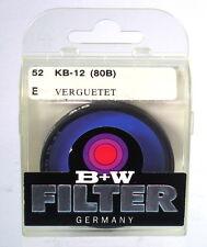 B + W filtro kb-12 (80b) filtro azul Ø 52 e - (12078)