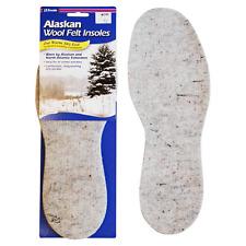 J.T Foot Alaskan Wool Felt Winter Insoles - New Englander 1Pair 7-13