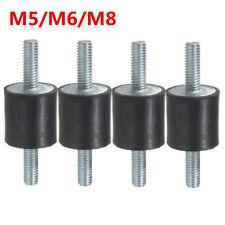 4 tlg Gummi Stoßdämpfer Anti Vibration Gummilager/Halter mit M5/M6/M8 Gewinde