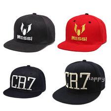 New Men Boys Girls Messi CR7 Baseball Cap Parent-child Kids Snapbacks Hiphip Hat