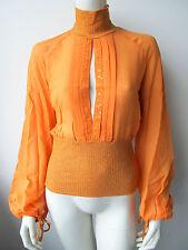 Anna Rita N Damen Bluse Camicia Top Shirt Neu 34 38  XS S M