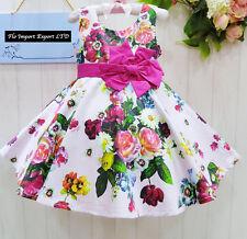 Dress Girl Suit Summer Rose and Flowers - Girl Summer Roses Dress DG0019