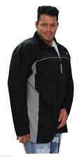 Ahorn Sweatjacke 3xl - 10xl Übergröße schwarz Sweatshirt  Sportjacke Troyer