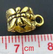 Anhäger für Ketten Gross Loch 5,5 mm - Dangle 6 mm x 12 mm  Perlen Beads #