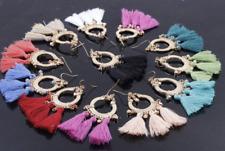 Brincos Women Drop Dangle Fringe Earring Vintage Statement Tassel Jewelry