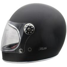 Bite the BULLITT con esta VIPER f656 Clásico Casco motocicleta negro mate