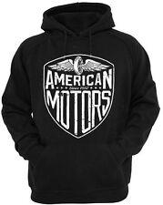 American Motors Hoodie Mens Womens Biker Rock metal Motorcycle hoody