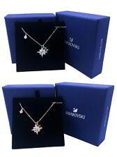 Authentic SWAROVSKI Rhodium Rose Gold Crystals Symbolic Stars Pendant Necklace