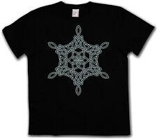 CELTIC KNOT LOGO SIGN XIV T-SHIRT - Kelten Knoten keltisch Kreuz Tattoo Tribal