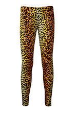 Original Leopard Animal Print Leggings Fancy Dress Halloween