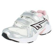 Girls R157JRG EZ White/Silver/pink Trainer By Hi-Tec £9.99